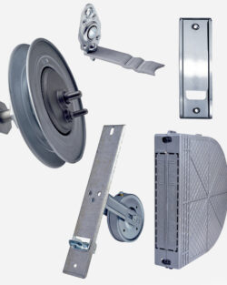 Accessories for roller shutters