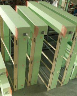 Roller shutter box