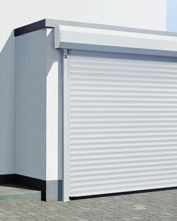 Insulated rolling gate